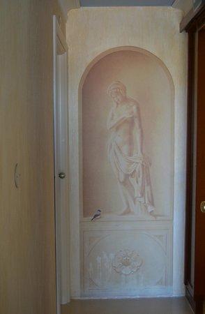 Hotel Derby : Lo splendido tromp-l'oeuil delle camere rinnovate al 4' piano