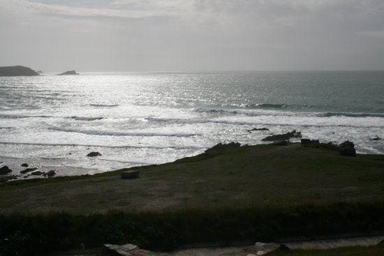 The Headland Hotel & Spa - Newquay: View from rear of Headland Hotel