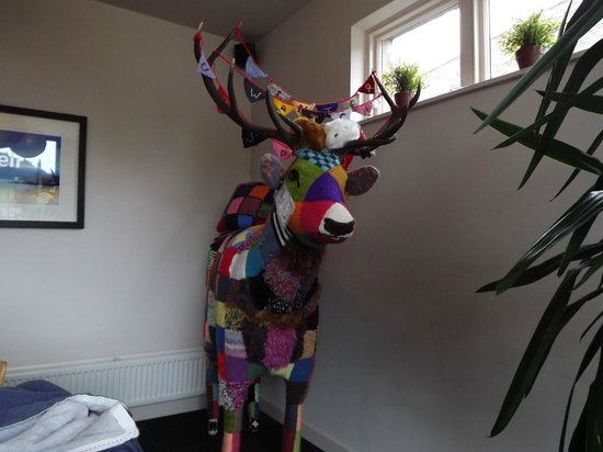 Taste Braemar: A Hand Knitted Stag