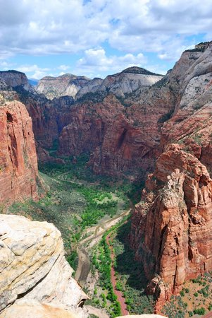 Angel's Landing : View from the top