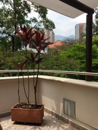 Hotel Poblado Boutique Express: Balcony