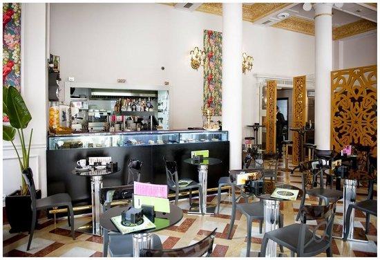 Hotel Adriano Sevilla: Cafeteria