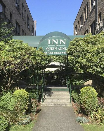 Inn at Queen Anne: Great curb appeal and great potential.