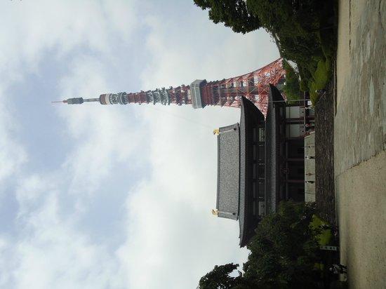 Zojoji Temple : Torre de Tóquio