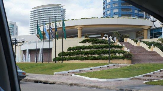 Conrad Punta del Este Resort & Casino: Entrada do hotel