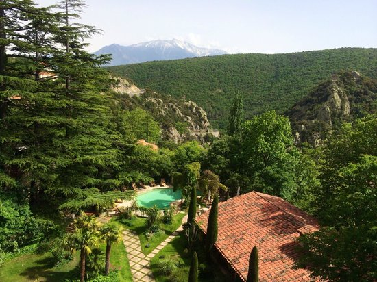 Chateau De Riell: View from the room