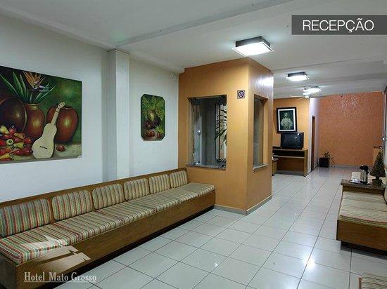 Hotel Mato Grosso: Recepção