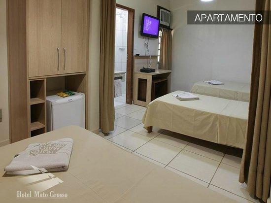 Hotel Mato Grosso: Apartamento Luxo