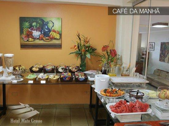 Hotel Mato Grosso: Café da Manhã