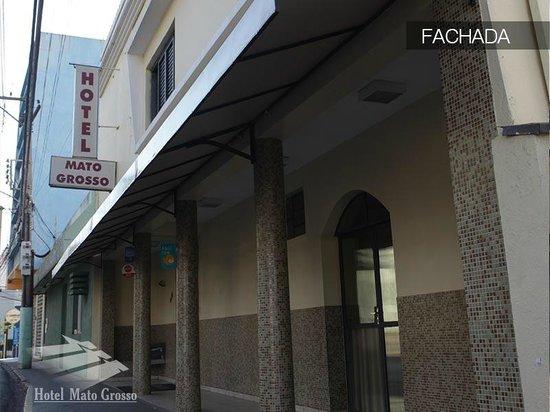 Hotel Mato Grosso: Fachada