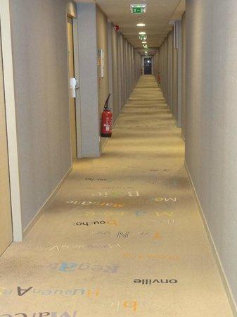 Hotel de la Baie : corridors