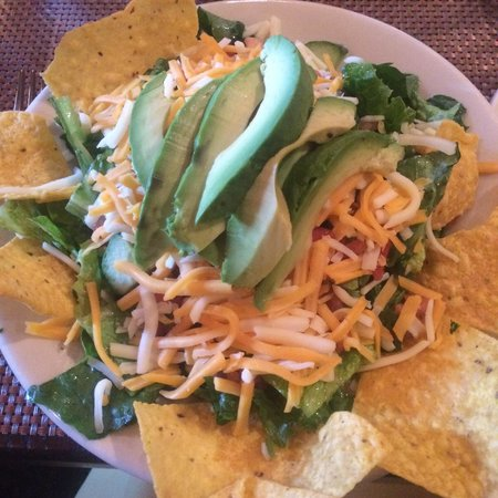 Tavern on the Green: Southwestern Salad. Can you believe that's a small?!! So good.