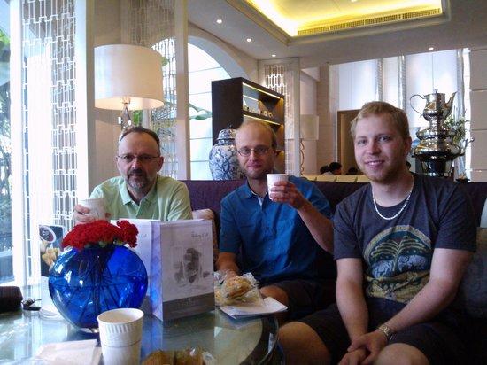 The Sukosol Hotel: Déjeuner dans le lobby