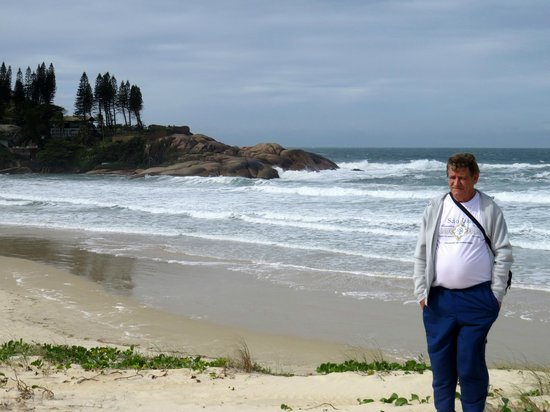 Joaquina beach: Eu.