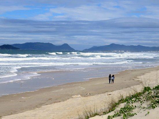 Joaquina beach: Bom para caminhar.