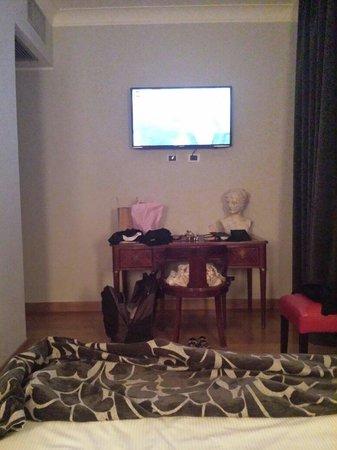 Relais Roma Centro: Camera con tv
