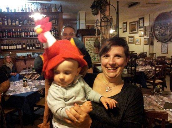 L'Umbricello del Coccio : Mattia il polleto :)