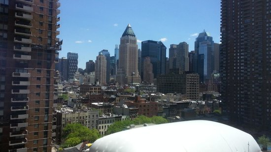 YOTEL New York at Times Square West: Room view @ Yotel