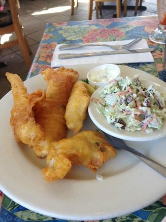 Sea Harvest Fish Market & Restaurant: Fish n chips