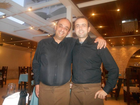 Kalypso Restaurant : lovely waiters at the kalypso