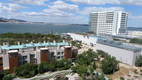 Aqualuz Suite Hotel Apartamentos: vue de ma chambre au 8è étage