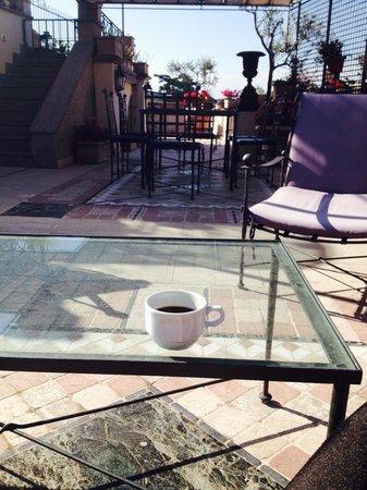 Made in Rome Bed&Breakfast : Breakfast Terrace