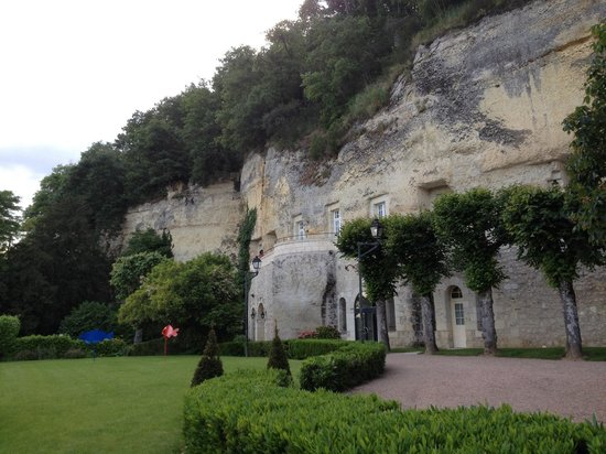 Les Hautes Roches didier Edon : Les chambres troglodytes