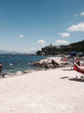 Towers Hotel Stabiae Sorrento Coast: Spiaggia