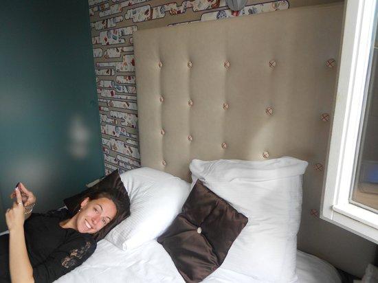Cityden Museum Square Hotel : Habitación pequeña pero acogedora