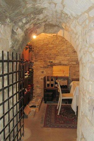 La Locandina: Wine Cellar dining