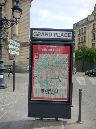 Grand place: City Map