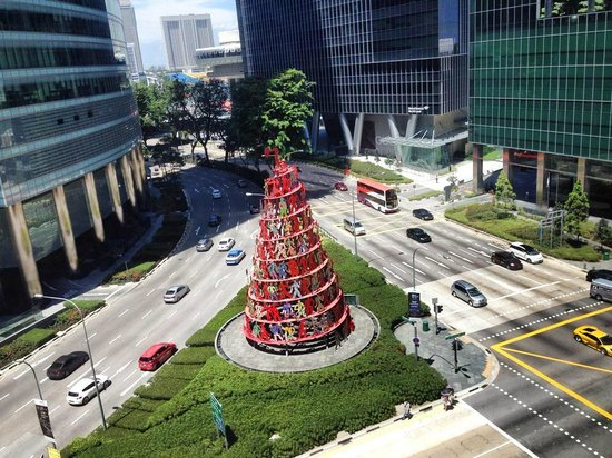 Ascott Raffles Place Singapore : View!