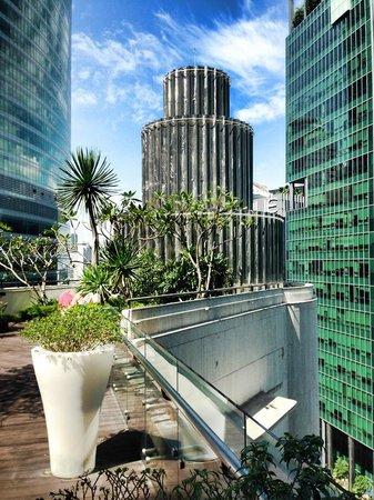 Ascott Raffles Place Singapore: Garden