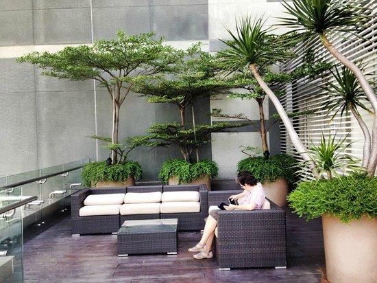 Ascott Raffles Place Singapore : Sitting area
