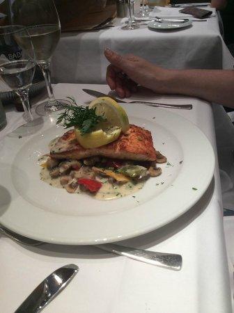 Reinhard's im Nikolaiviertel: the salmon