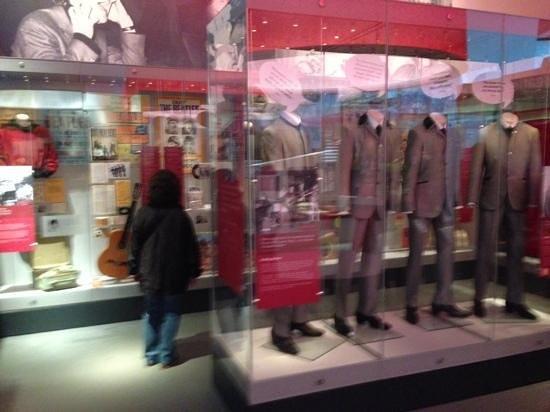 Museum of Liverpool: ビートルズ展示室