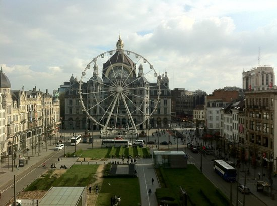 Radisson Blu Astrid Hotel, Antwerp : View from my room