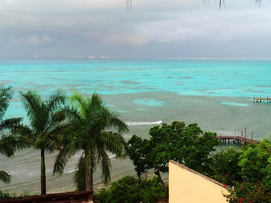 View from my room at Hotel La Joya