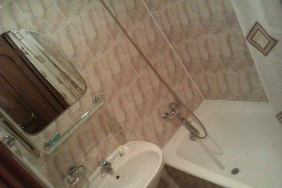 Zvezdnaya Hotel: Ванная комната на два номера