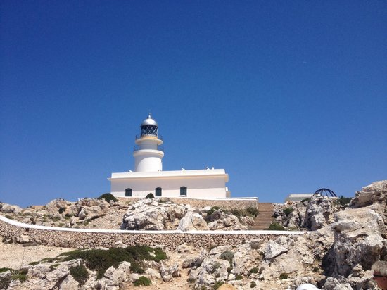 Jeep Safari Menorca : The Lighthouse. The surrounding area is lovely.