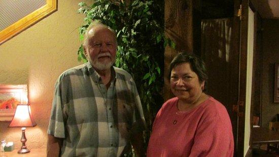 Mamacita's: Two Happy Customers at Mamacitas!