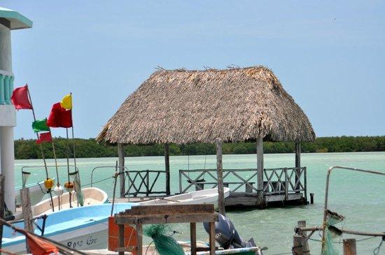 Rio Lagartos Adventures: On the taxi-boats pier