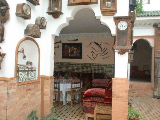 Riad Meknes: terrasse