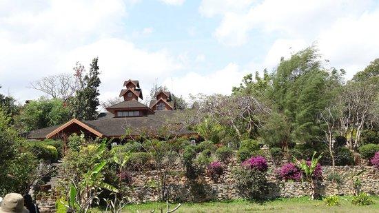 Inle Lake View Resort & Spa: au milieu de la verdure