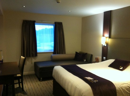Premier Inn Exeter (M5 J29) Hotel: View across room