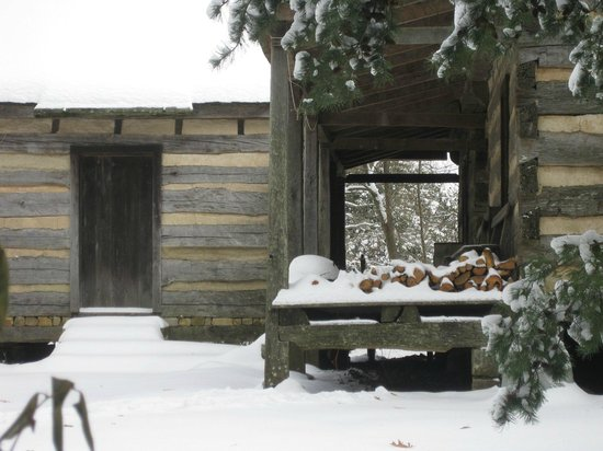 Burritt on the Mountain: Winter can bring tons of snow to the mountain but we are open year round!