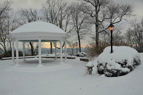 Huntsville, AL: The Gazebo in snow.