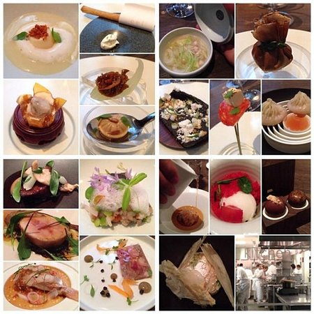 18 Course Tasting at Benu