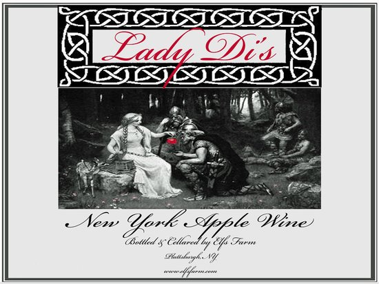 Elfs Farm Winery & Cider House : Lady Di's Apple Wine