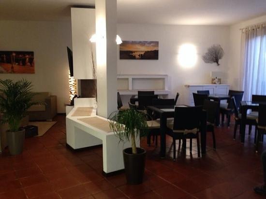 Hotel Garibaldi: sala x colazzione